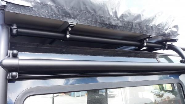 Safety Devices Klammer für Montage Dachzelt auf dem den Full External Überrollkäfig Land Rover Defender