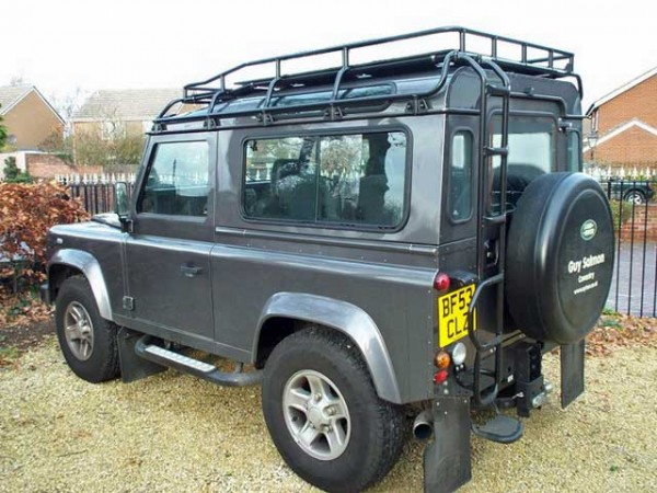 "Safety Devices Dachgepäckträger ""G4 Expedition"" Land Rover Defender 90 Hard Top + Station"