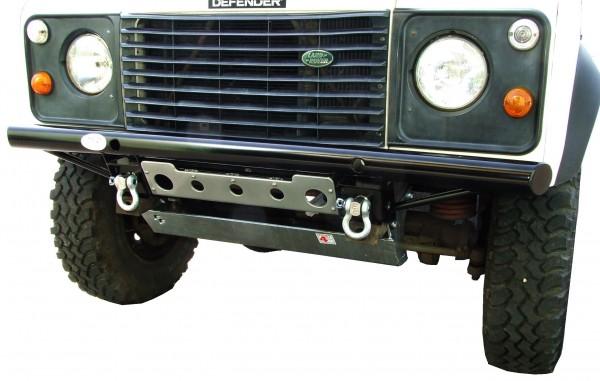 Shadow Tubular Stoßstange für Land Rover Defender ohne Klimaanlage