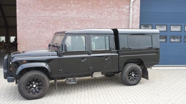 Tembo4x4 Hard Top mit seitlichen Schiebefenster Land Rover Defender 130 Crew Cab