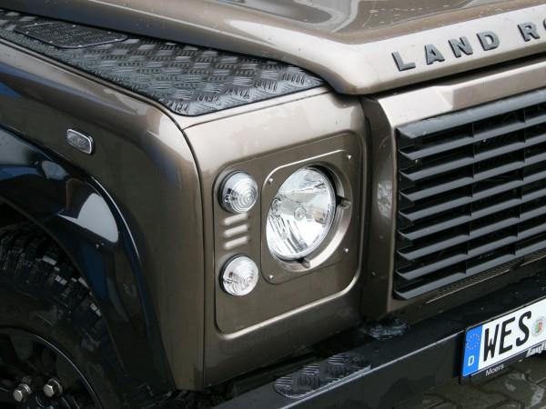 Entreq Scheinwerferzierblenden Land Rover Defender