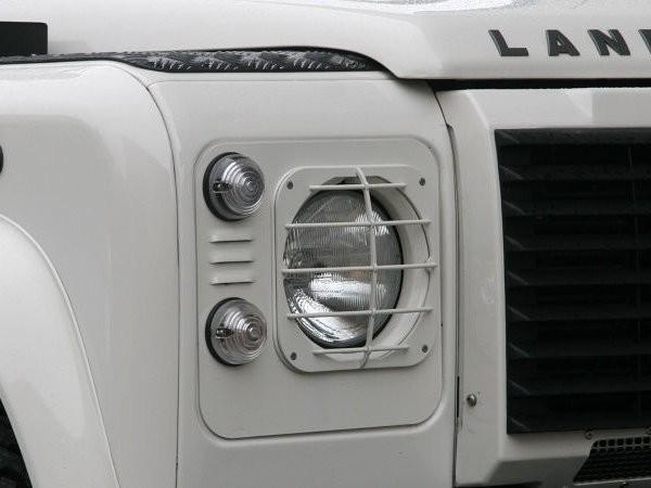 Entreq Lampenschutzgitter Edelstahl Land Rover Defender