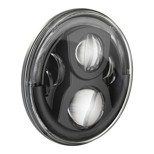 """J.W. Speaker 7"""" LED Hauptscheinwerfer 8700 EVO 2 PRO Dual Burn mit Positions- und Tagfahrlicht"""