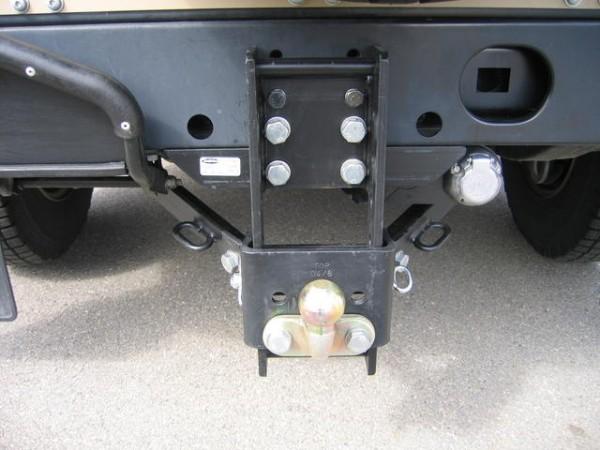 Dixon Bate Anhängerkupplung höhenverstellbar Land Rover Defender 110 TD5/td4
