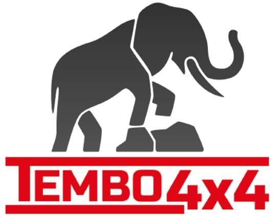 Tembo4x4 Dachgepäckträger schwarz beschichtet Land Rover Defender 110 Crew Cab Fahrzeuglänge