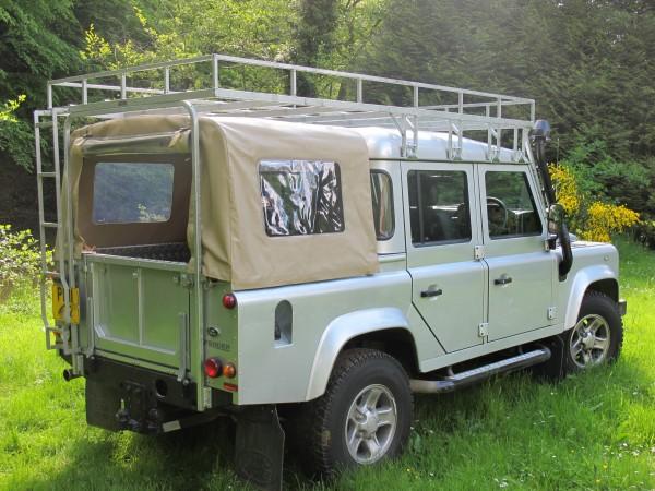 Brownchurch Dachgepäckträger Fahrzeuglänge Land Rover Defender 110 Crew Cab