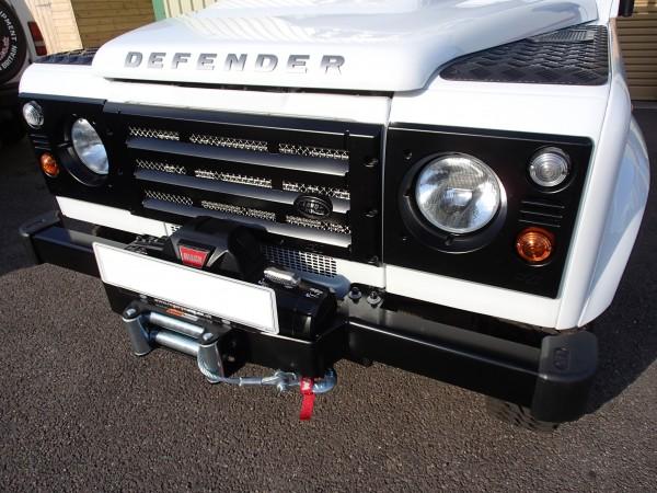 """Shadow Seilwinden-Stoßstange """"Classic"""" für Land Rover Defender ohne Klimaanlage"""