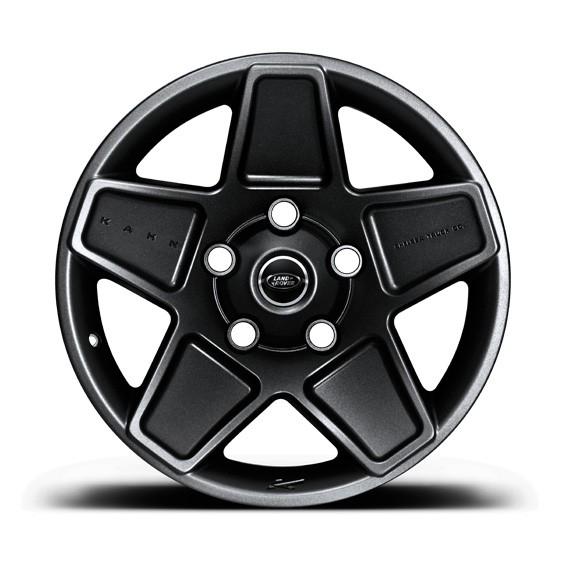 Kahn Design Alufelge Mondial Retro 9x20 Volcanic schwarz Land Rover Defender