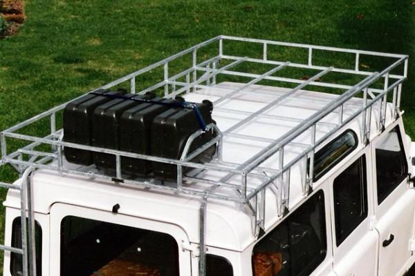 Brownchurch Kanisterhalter Dachgepäckträger Land Rover Defender
