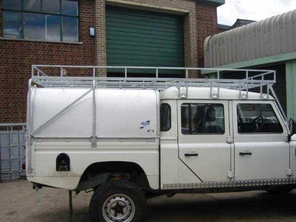 Brownchurch Dachgepäckträger Fahrzeuglänge Land Rover Defender 130 Crew Cab