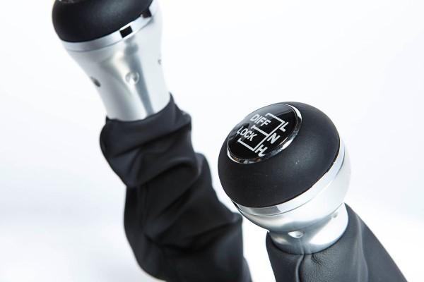 Matzker Schaltknauf-Garnitur Experience für den Land Rover Defender td4