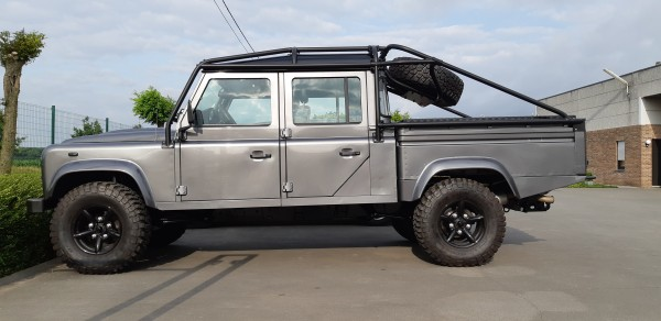 Safety Devices Überrollkäfig Full External Land Rover Defender 130 Crew Cab  (RBL247 7SSS)
