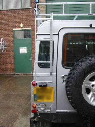 Brownchurch Leiter Land Rover Defender 90 + 110 Hard Top + Station