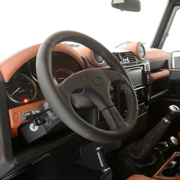 STARTECH Lederlenkrad Land Rover Defender schwarze Naht