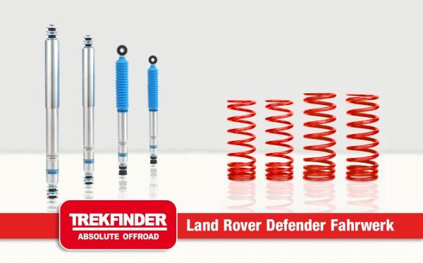 Trekfinder Höherlegungsfahrwerk +40mm Land Rover Defender 110