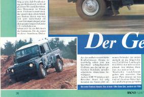 Bericht aus dem Magazin Off-Road 12/1997